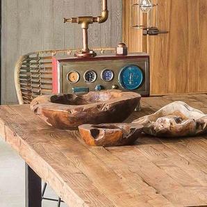 SIT Tischplatte, aus recyceltem Altholz