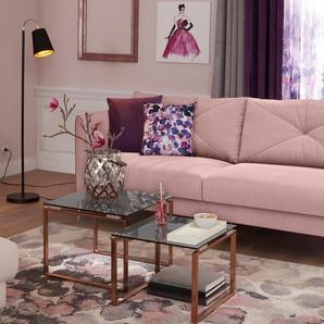 2-Sitzer »Lille«, rosa, 167cm, Guido Maria Kretschmer Home&Living