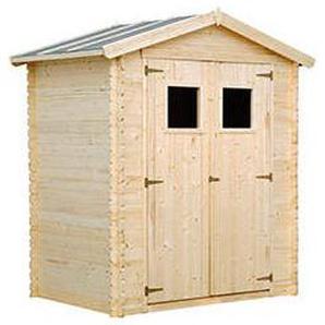 Holz Gartenhaus MARTI B 196 x T 126 cm, 19 mm
