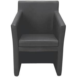 Clubsessel schwarz, Nowy Styl, 70x38.5x45 cm