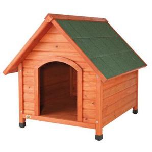 Trixie 39532 natura Hundehütte Cottage mit Satteldach, M-L: 83 × 87 × 101 cm, natur