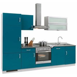 Küchenzeile »Amrum«, Breite 280 cm, blau
