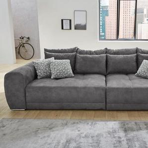 Big-Sofa, grau, B/H/T: 306x39x58cm