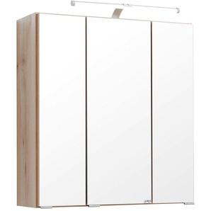 Carryhome: Spiegelschrank, Holzwerkstoff, Buche, B/H/T 60 66 20