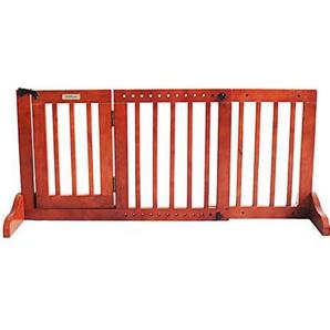 GUO@ Kindersicherheitstor Komfortabler vertikaler Zaun für Haustiere aus reinem Holz