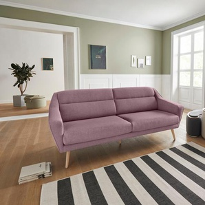 Andas 2 Sitzer »Bille«, rosa, B/H/T: 167x45x58cm, hoher Sitzkomfort