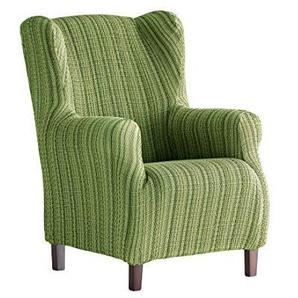 Martina Home Schutzhülle aus elastischem Sessel Ohrensessel 33x42x8 cm grün