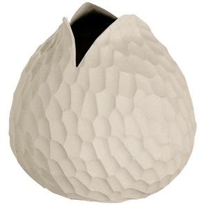 ASA SELECTION Dekovase »Carve Handgefertigt Steinzeug Beige 10.5 cm 136001«