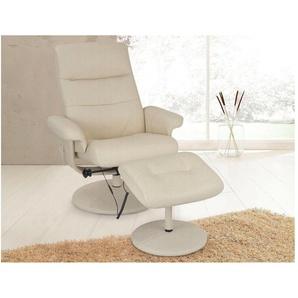 Massagesessel, beige, B/H/T: 75x46x50cm, hoher Sitzkomfort