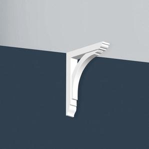 Konsole Orac Decor GB02 XTERIO Wandhalter für Vordach Zierlement Zeitloses Klassisches Design weiß