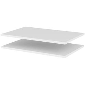 Tenzo Malibu Boden Weiss 56x37x1,6 cm Weiss Weiß