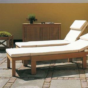 Skagerak Denmark Polsterauflage für Riviera Sonnenliege beige, 5x67 cm