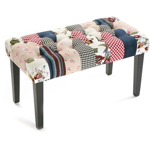 Schminkbank Romantic Patchwork