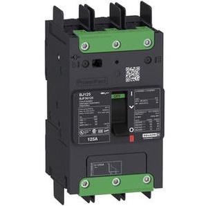SCHNEIDER ELECTRIC Leistungsschalter Powerpact B 40A TM40D 3P 35kA/480V Sammelschiene