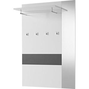 Garderobenpaneel »GW-Alameda«, grau, pflegeleichte Oberfläche, GERMANIA