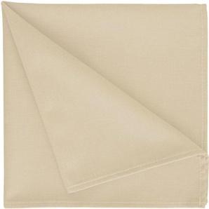 Stoffserviette »4388 Uni-Basic«, beige, 42x42cm, APELT