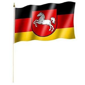 Niedersachsen - Stockfahne
