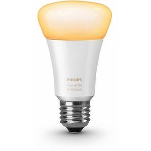 Philips Hue LED-Lichtsystem, E27, 1 Stück, Neutralweiß, Tageslichtweiß, Warmweiß, Extra-Warmweiß, Farbwechsler, smartes LED-Lichtsystem mit App-Steuerung