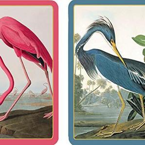 Caspari pc127j Audubon Birds Set zwei Spielkarten in Größe Jumbo Papier Mehrfarbig 13x 9,5x 0,1cm