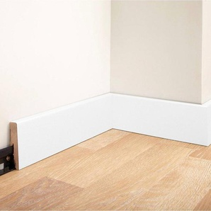 MODERNA Sockelleiste »Designfußleiste DFL 60 - weiß«, 5er-Pack, Höhe: 6 cm