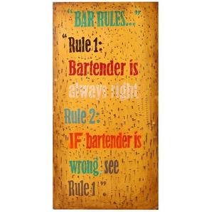 Wandschild Bar Rules