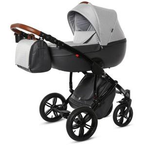 : Kinderwagen-Set, Graphit, Grau, B/H/T 64 99 108