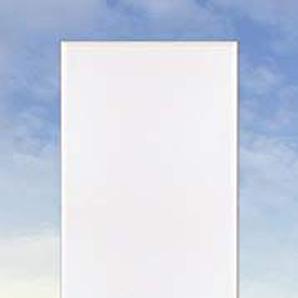 Artland Qualitätsspiegel I Spiegel Wandspiegel Deko Rahmen mit Motiv 50 x 140 cm Landschaften Strand Foto Blau G3GE Ostsee7 - Strandkorb