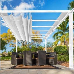 50NRTH Pergola »Florida«, BxL: 350x350 cm