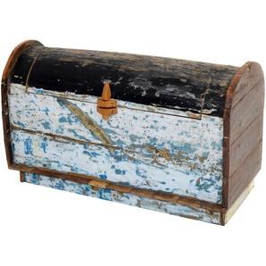 PLOß Piratenbox Seaside, recyceltes Fischerbootholz, 115x50x65 cm