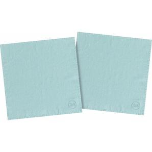 Stoffserviette »stone washed«, blau, 40x40cm, Öko-Tex-Zertifikat, , , Guido Maria Kretschmer Home&Living