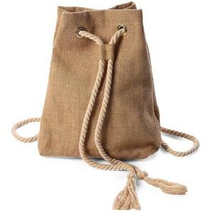 Bastrucksack, B:30cm x H:37cm, natur