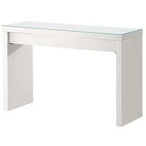 Ikea MALM Frisiertisch in weiß; (120x41cm)