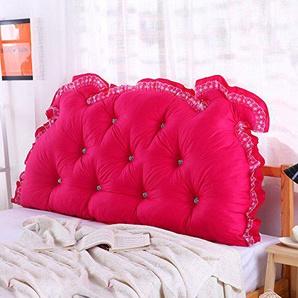 Bedside Kissen, Kopfteil gepolsterte Baumwolle weiche Tasche Multifunktionale Rückseite Bund flexibel 5 Farben 6 Größen (Farbe : 4#, größe : 120 × 15 × 70cm)
