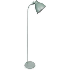 Stehlampe aus Metall grün H164