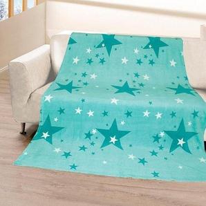 Wohndecke »Stars«, Gözze, mit Sterne Muster