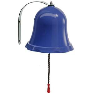 Glocke für Kinderspielhaus und Spielturm blau