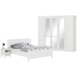 uno Komplett-Schlafzimmer 4-teilig  Bellevue ¦ weiß ¦ Maße (cm): B: 256 H: 226 T: 60 Komplett-Schlafzimmer » Höffner