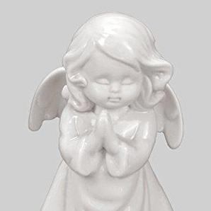 Klp Engel Schutzengel Porzellan Dekofigur Skulptur Statue Weihnachts Deko Figur Elfe