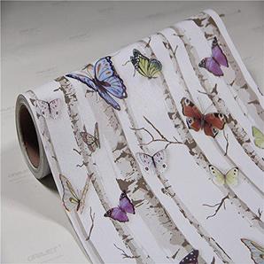 Yirenfeng PVC Selbstklebende Tapete Wasserdichte Tapete Wohnzimmer Schlafzimmer Bekleidungsgeschäft Café Hotel Dekoration Tapete. B