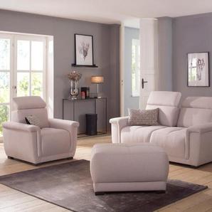 Home affaire 2-Sitzer »Brix«, mit Kopfteilverstellung, wahlweise mit Sitztiefenverstellung