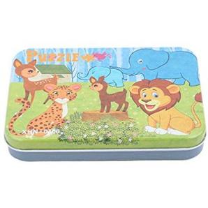 Hengxing Tier Serie Puzzle Sets Holzpuzzles Für Kleinkinder Kognitive Entwicklung Vorschule Anerkennung Spielzeug, 3#
