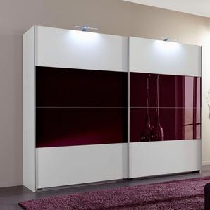 Schwebetüren-Schrank , lila, Breite 225 cm, »Easy«, Wimex