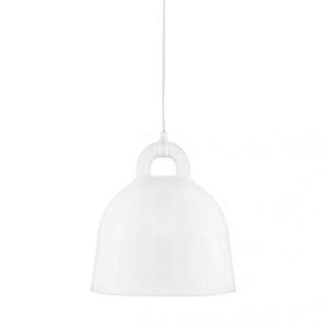 Normann Copenhagen Bell Lampe Small White H: 37 x Ø: 35 cm [P] [W]
