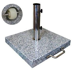 Sonnenschirmständer Schirmständer Marktschirmständer Granit 30 Kg