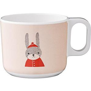Bloomingville Mini Sophia Melamin-Becher Rabbit Kinderbecher mit Henkel Hase