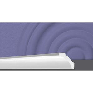 Decosa Zierprofil B7, weiss, 50 x 50 mm Laenge 2 m - 50 Stueck - DECOSA®
