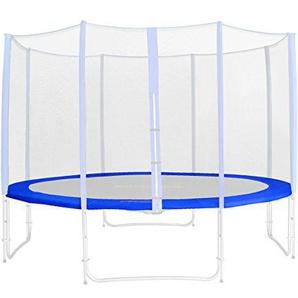 SixBros. Randabdeckung Blau für Gartentrampolin 1,85 M - 4,60 M - Ersatzteil Federabdeckung PVC - RA-543 - Größe 2,45 m 3L