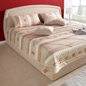 Westfalia Schlafkomfort Tagesdecke, beige