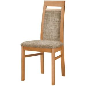 Stuhl  Cristal ¦ braun ¦ Maße (cm): B: 48 H: 99 T: 56 Stühle  Esszimmerstühle  Esszimmerstühle ohne Armlehnen » Höffner