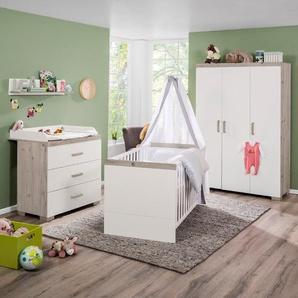 Transland Babyzimmer-Set, Weiß